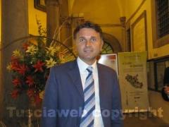 L\'assessore Gianmaria Santucci