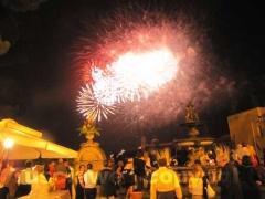 I fuochi d\'artificio a Palazzo dei priori