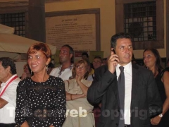 L\'assessore Angela Birindelli e il sindaco Giulio Marini