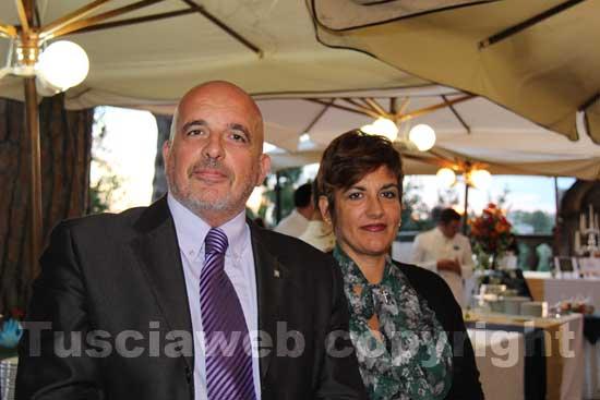 Stefano Signori con la moglie