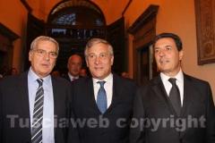 Arena, Tajani e Marini