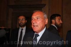 Il presidente del Senato Pietro Grasso