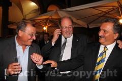 Da sinistra: Lorenzo Ciorba, Aldo Fabbrini ed Enrico Panunzi