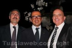 Giuseppe Crea (direttore di Federlazio), Andrea De Simone (direttore di Confartigianato) e Stefano Signori (presidente di Confartigianato)