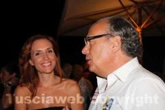 L\'assessore comunale Alessandra Zucchi e il padre Sandro
