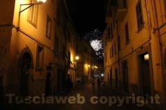 I fuochi d\'artificio dopo il trasporto