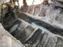 Gli scavi in località Pratino