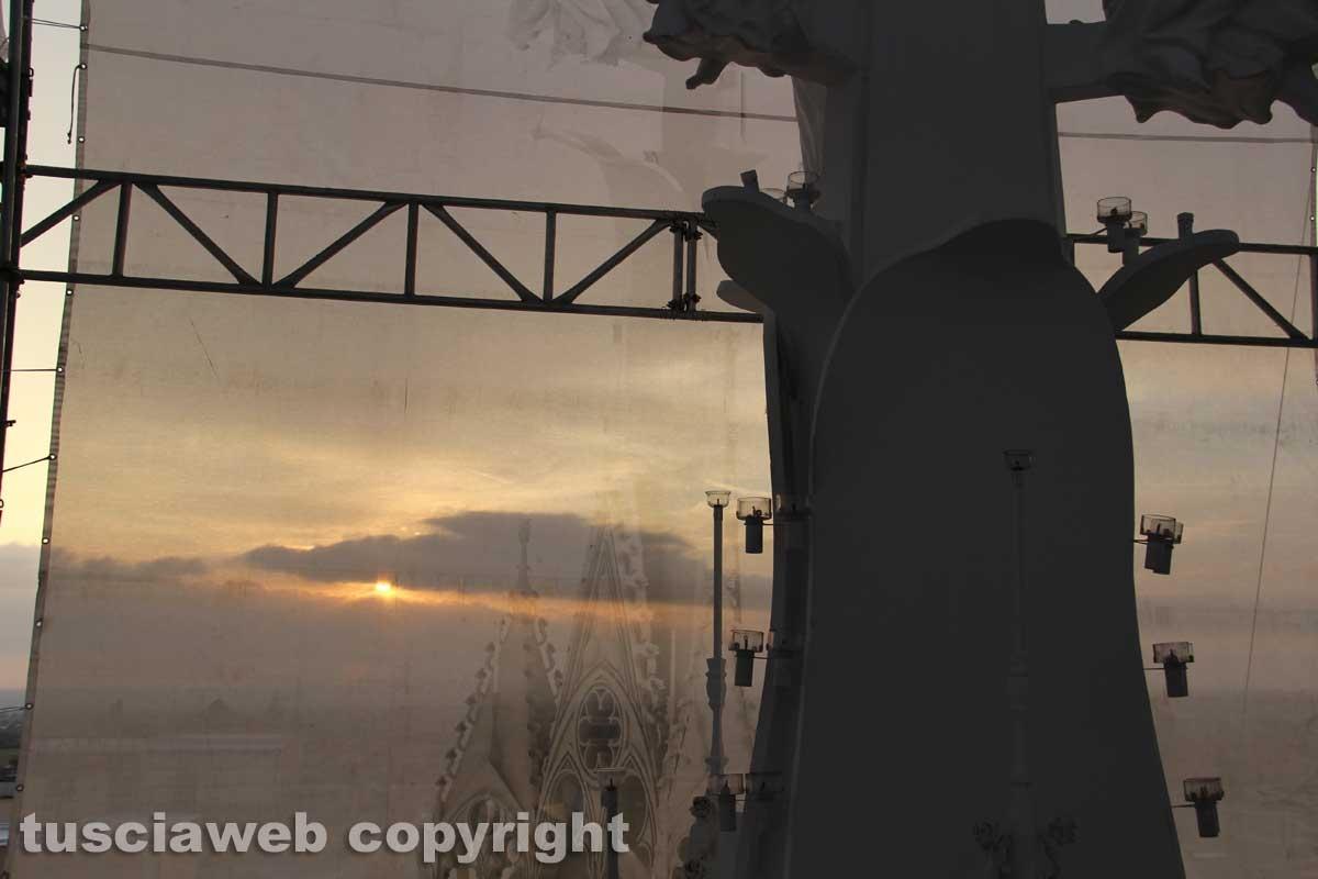 Gloria al tramonto