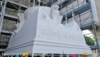Gloria arriva a San Sisto