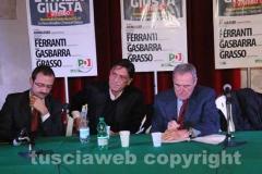 Pietro Grasso a Viterbo