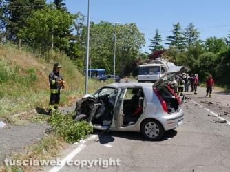 Grave incidente a Ponte di Cetti