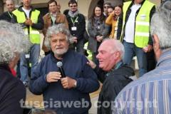 Grillo conquista piazza del Comune