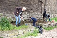 Guerrilla gardening a porta della Verità