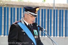 Il comandante provinciale colonnello Gianluca Dell\'Agnello