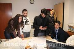 L\'attesa dei risultati delle elezioni regionali nella sede del Pdl