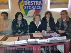 I candidati della Destra in campo -  Rita Belardini