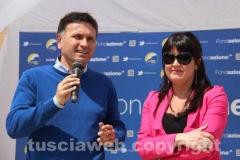 Gianmaria Santucci e Giuseppina Addeo