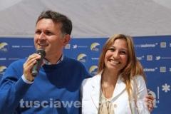 Gianmaria Santucci e Veronica Camerdella