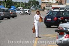 Gabriela Grassini si reca in procura