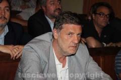 Il consigliere comunale Claudio Ubertini