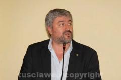 Il sindaco di Calcata Luciano Sestili