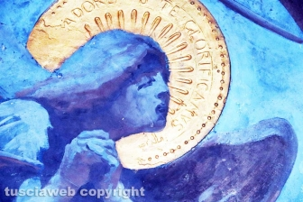 I danni agli affreschi di Vanni a dicembre