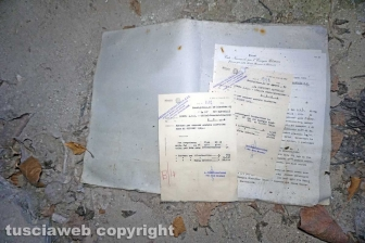 I documenti della Chemical city