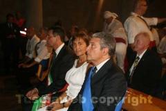 La governatrice Renata Polverini e il presidente Marcello Meroi