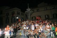 Il pubblico di piazza Fontana Grande