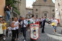La partenza del giro delle sette chiese