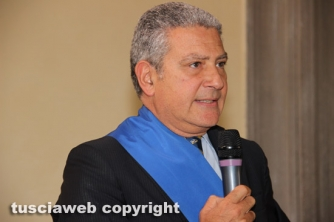 Il presidente della Provincia Marcello Meroi