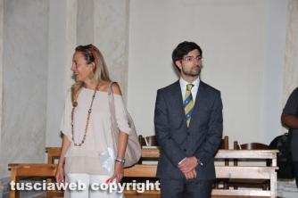 Alessandra Zucchi con il consigliere regionale Daniele Sabatini