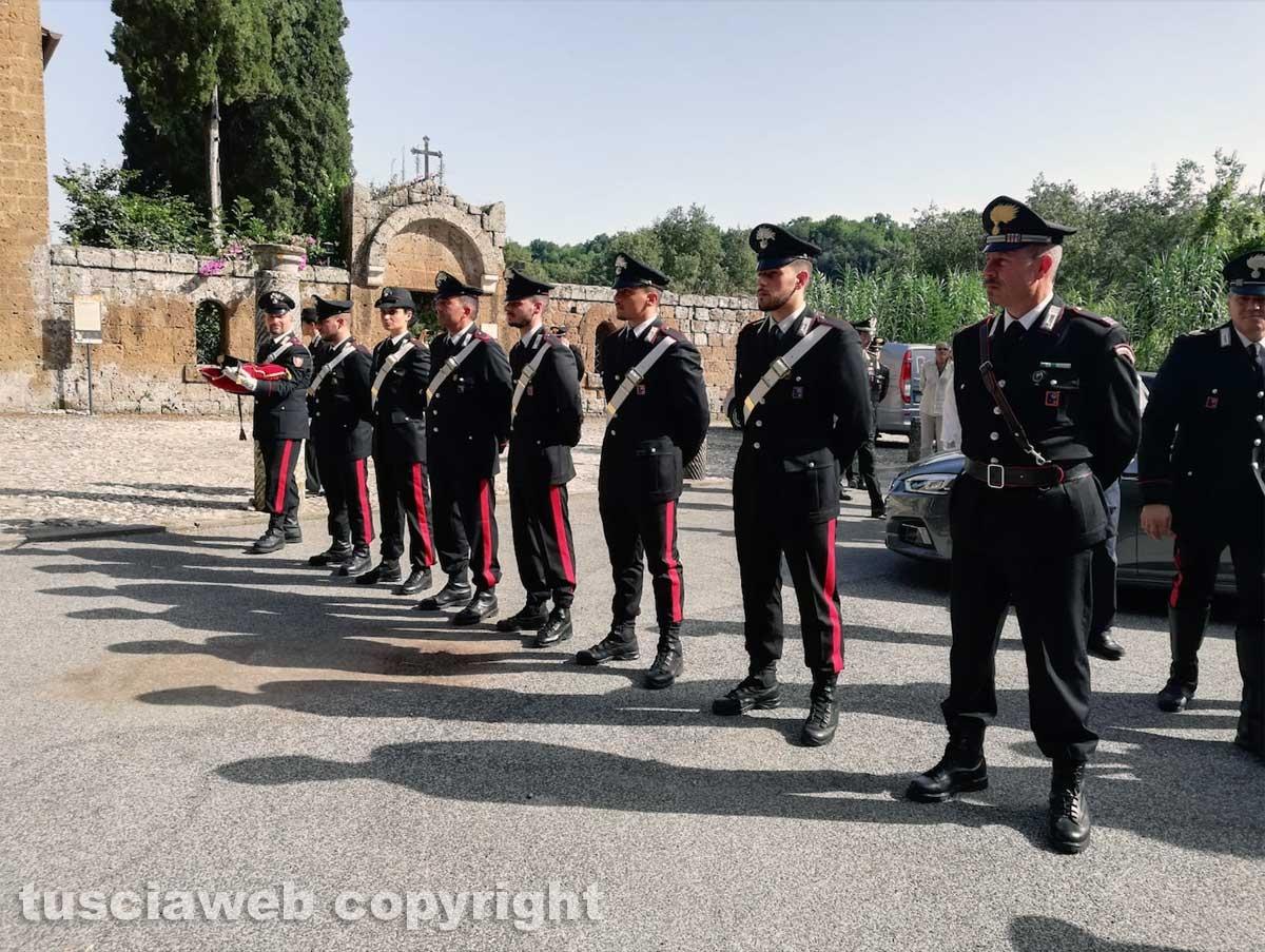 I funerali del carabiniere Daniele Gatti