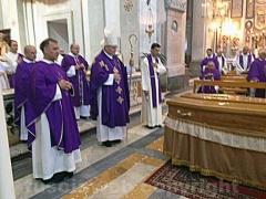I funerali del padre agostiniano Renato Proietti Saveri - Foto Silvio Cappelli