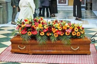 I funerali del regista Giorgio Capitani