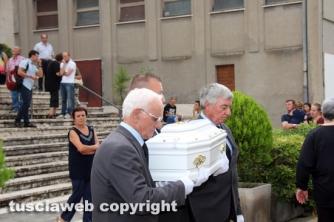 I funerali della piccola Giulia Stavila