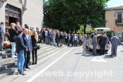 I funerali di Roberto Delfino
