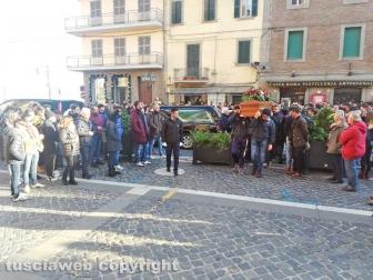 Soriano nel Cimino - I funerali di Andrea Trifolelli