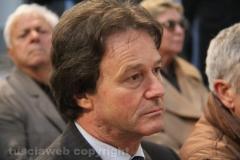 l sindaco di Bagnoregio e presidente del consiglio provinciale Francesco Bigiotti