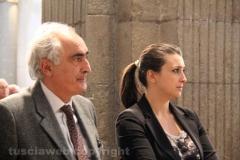 Gli assessori comunali Alvaro Ricci e Luisa Ciambella