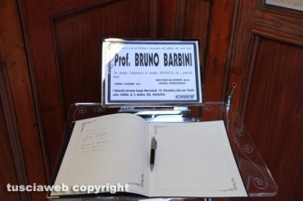 I funerali di Bruno Barbini