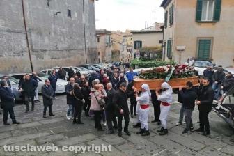 Viterbo - I funerali di Contaldo Cesarini
