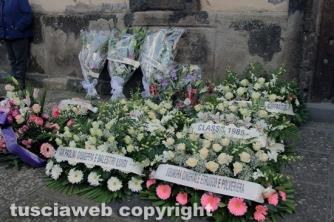 Grotte di Castro  -  I funerali di Cristina Cappelloni