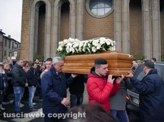 Vejano - I funerali di Damiano Barberini
