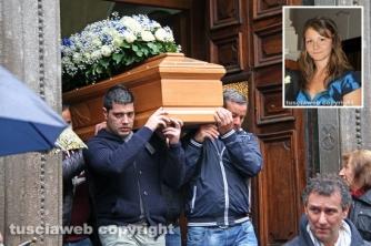 Vitorchiano - I funerali di Daniela Anselmi
