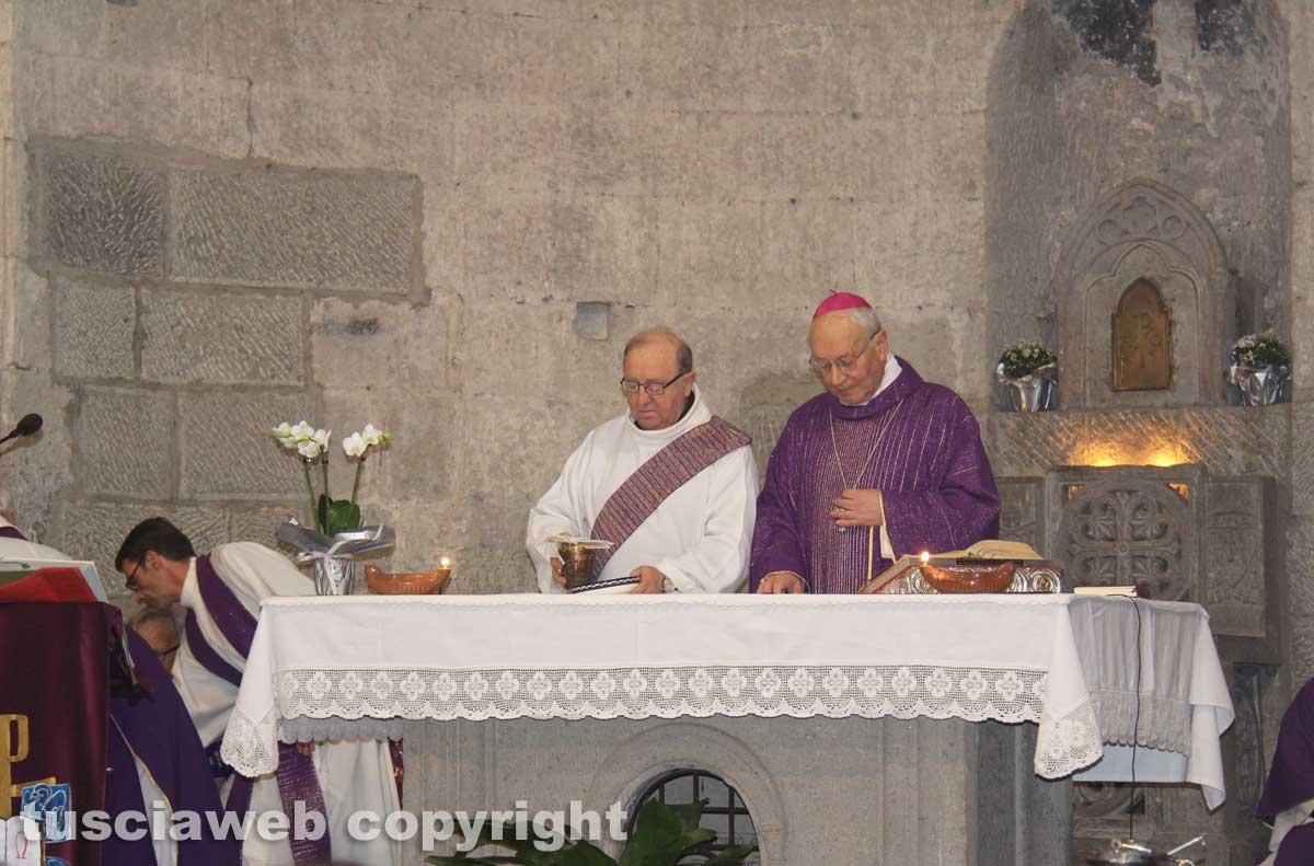 Viterbo - I funerali di don Angelo Gargiuli
