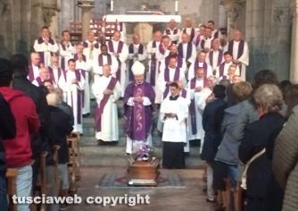 Viterbo - I funerali di don Giampaolo Manca