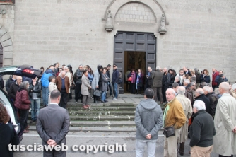 Viterbo - I funerali di Francesco Mencaroni