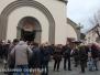 I funerali di Gilberto Pietrella