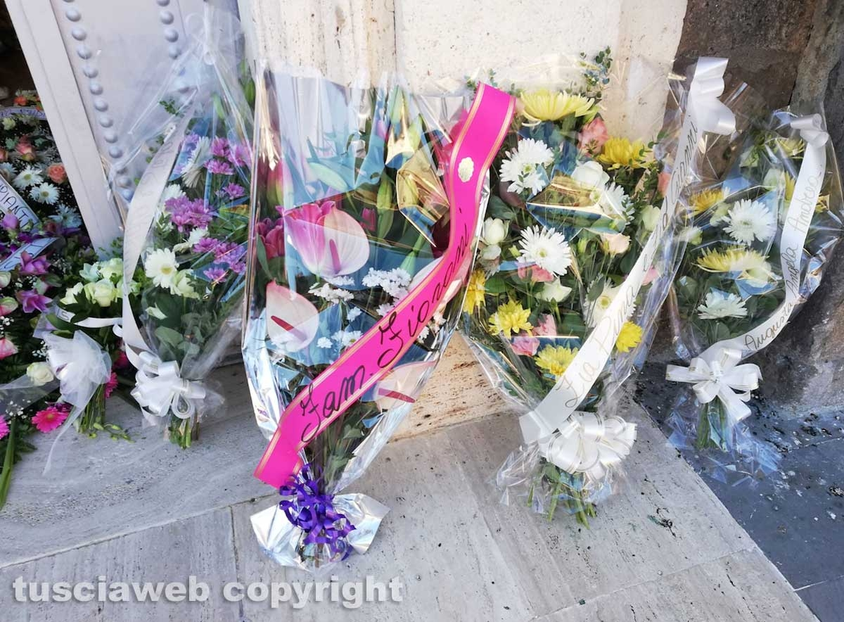I funerali di Jessica Bussi